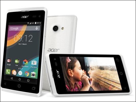 AcerLiquid Z220, smartphone Android con diseño vanguardista por menos de 100€