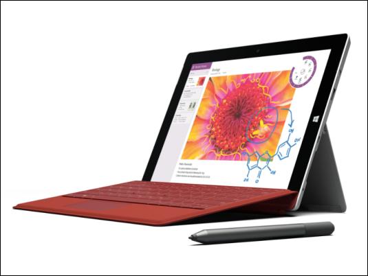 """Microsoft presenta la Surface más fina y ligera, """"Surface 3"""""""