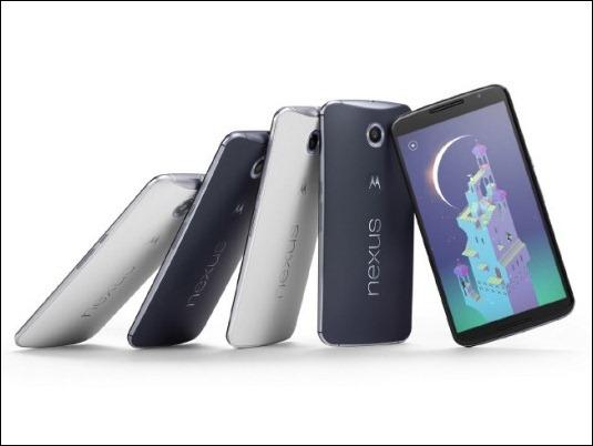 El Nexus 6 de Google y Motorola llega a seis nuevos países europeos.