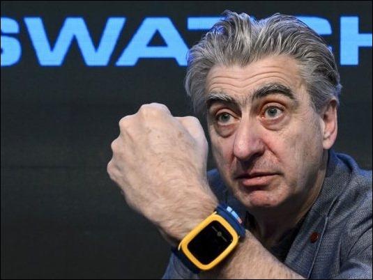 Swatch Touch Zero One, el reloj inteligente de la marca suiza