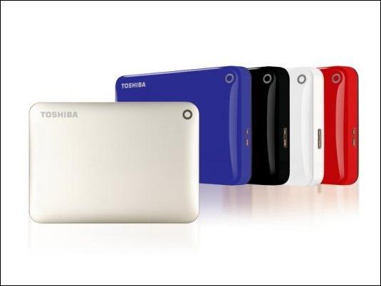 Toshiba presentará en CeBIT sus nuevos discos duros portátiles de 3 TB.