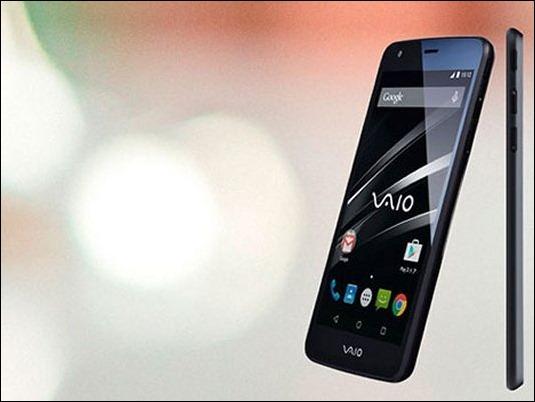 VAIO-smartphone