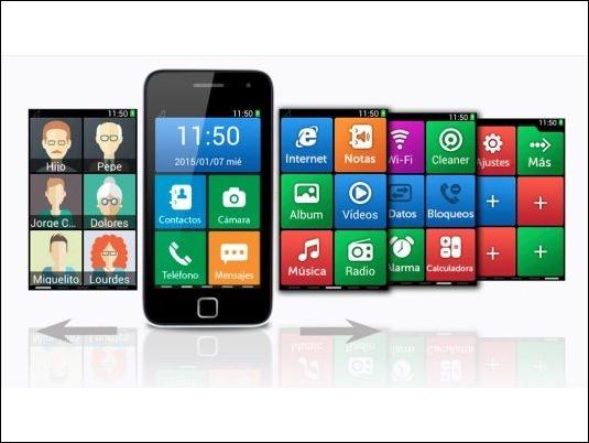 Vento Nonno, un smartphone que piensa en los mayores