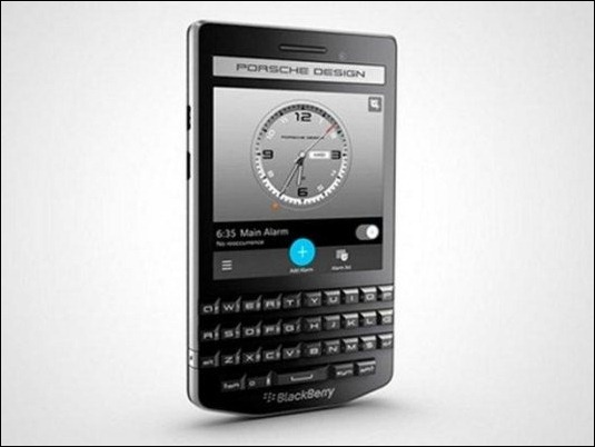 Blackberry lanza un móvil exclusivo de 2000 dólares