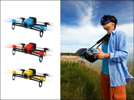 Parrot Bebop Drone : los drones de Parrot se visten de colores.