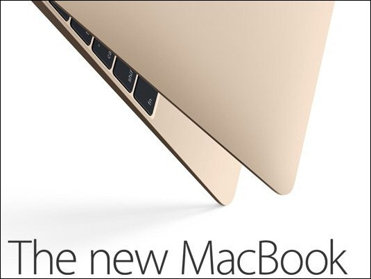 Apple presenta un totalmente nuevo MacBook con pantalla retina y ultraslim