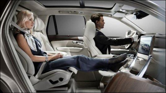 Volvo diseñó el automóvil más cómodo del mundo