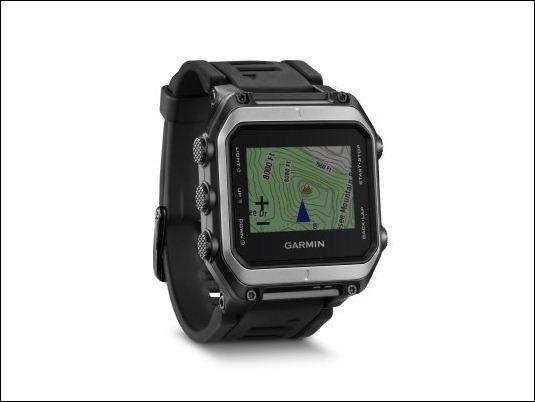 Garmin presenta epix, su primer reloj multideporte con mapas a color preinstalados