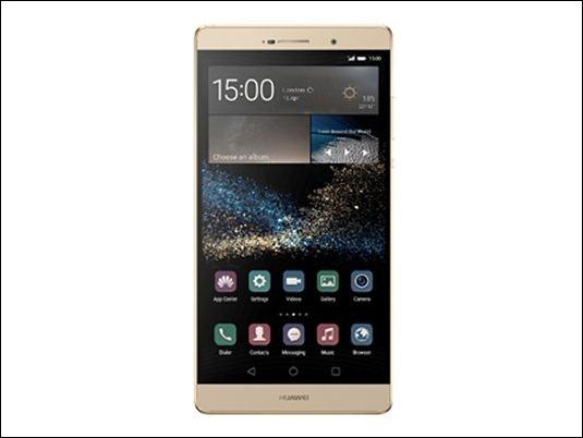 """Huawei presenta el P8max, un móvil con pantalla de 6,8"""""""