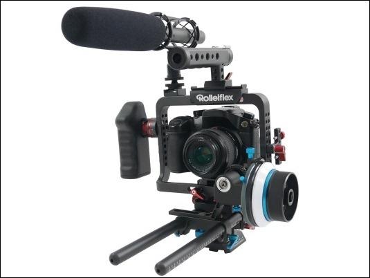 Rolleiflex 4K Cage, una resistente jaula para realizar los vídeos más profesionales