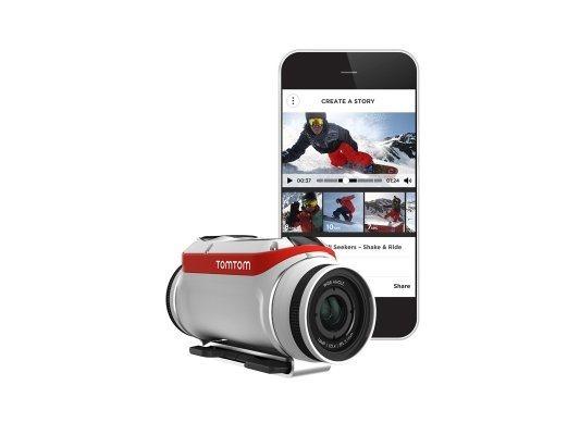 TomTom se lanza a las cámaras de acción con TomTom Bandit.