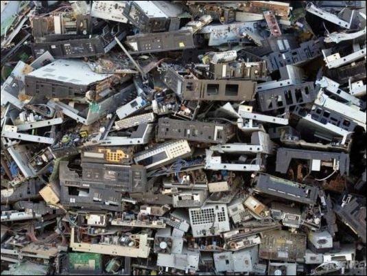 Tenemos 42 millones de toneladas de basura electrónica