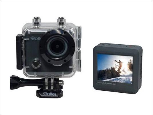 Rollei presenta sus nuevas cámaras de acción con WiFi integrado para los más aventureros