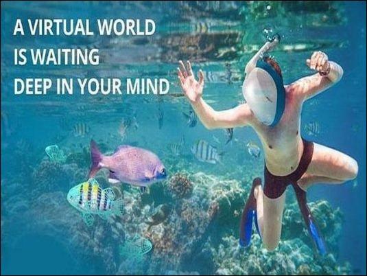 Nautilus VR, el casco de realidad virtual acuática