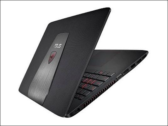 ASUS Republic of Gamers (ROG) GL552, un portátil para gaming de alto rendimiento