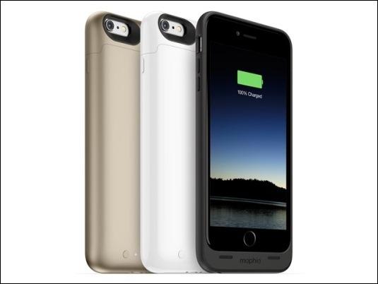 El Juice pack para iPhone de Mophie ofrece más de un 120% de batería adicional