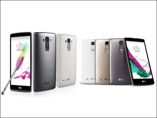 "LG amplia la familia ""G4"" con un phablet y un ""mini compacto"""