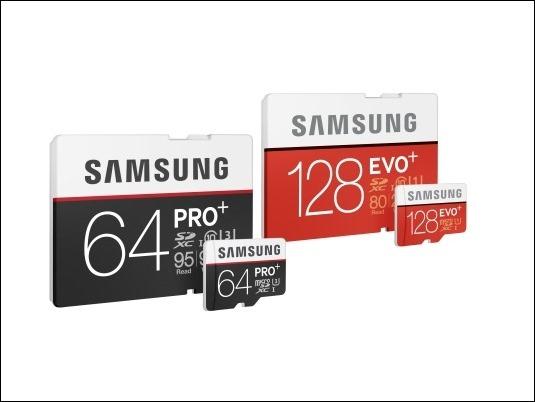 Nuevas tarjetas de memoria SD y microSD, PRO Plus y EVO Plus de Samsung