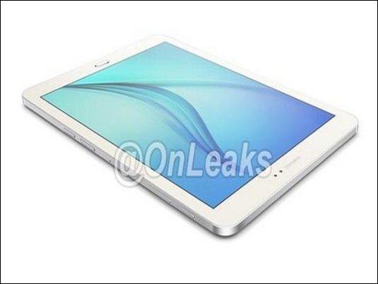 Galaxy Tab S2: Se filtra imagen de la nueva tableta de Samsung