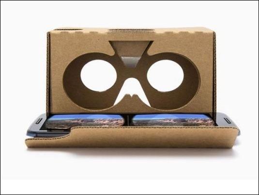"""Google presentó nueva versión de sus gafas de realidad virtual, """"Cardboard"""""""
