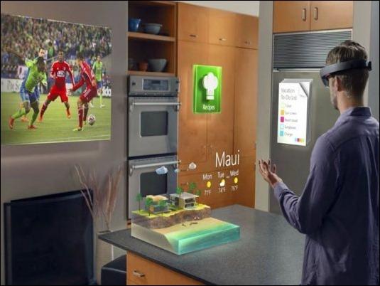 Las gafas HoloLens de Microsoft costarán 400 dólares