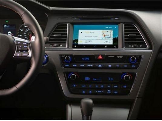 Hyundai lanza al mercado el primer coche con Android Auto