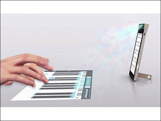 Lenovo presenta teléfono con proyector integrado