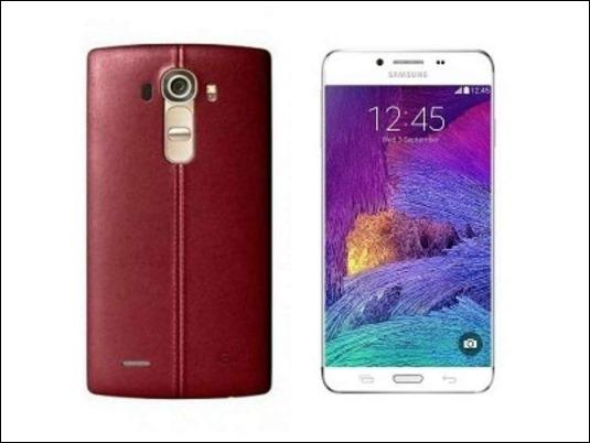 Samsung Galaxy S6 vs. LG G4 ¿Cuales son sus diferencias?