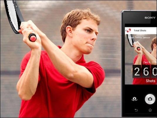 Mejora tu juego con el Smart Tennis Sensor de Sony
