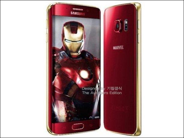 Edición Especial Iron Man del Samsung Galaxy S6