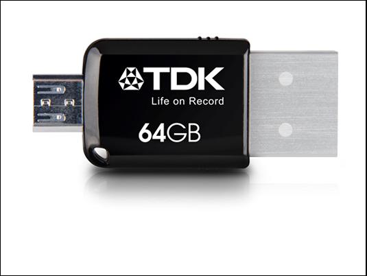 TDK 2 en 1 mini Flash Drive Express: ¡la más rápida de la familia!