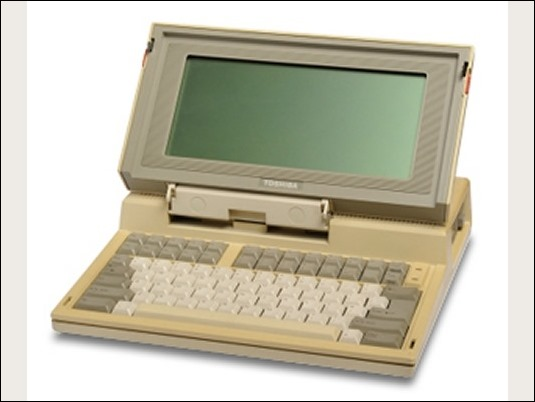 30º Aniversario del lanzamiento del primer portátil comercial, el T1100