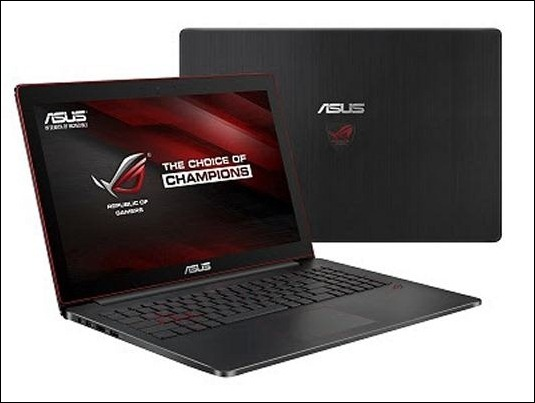 ASUS Republic of Gamers anuncia el portátil ultrafino G501