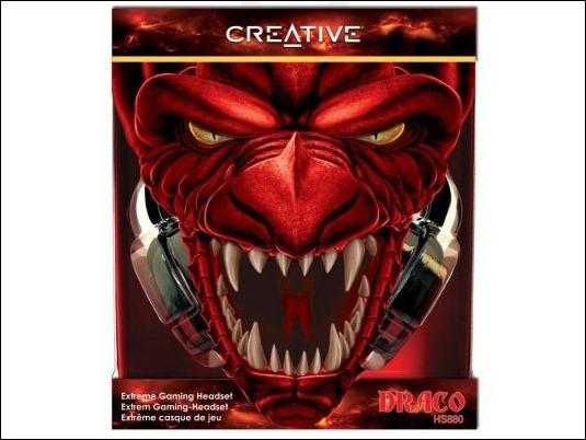 Creative Draco HS880, la propuesta de Creative para el gaming
