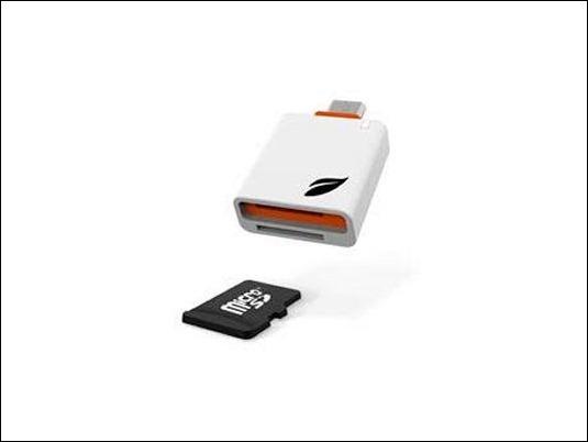 Leef Access, lector portátil de tarjetas micro SD para dispositivos Android