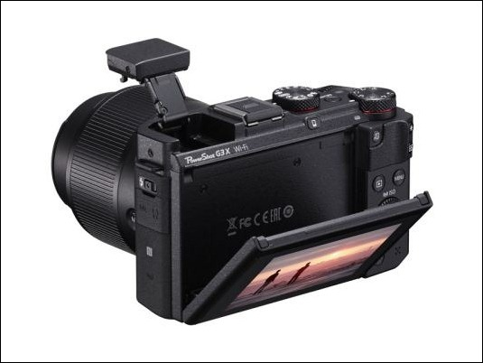 PowerShot-G3-X-Flash-Up-LCD-down-45-degrees-LR