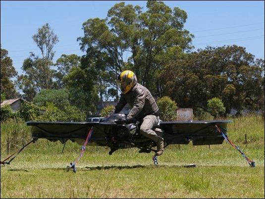 Ejército estadounidense desarrollará una moto voladora