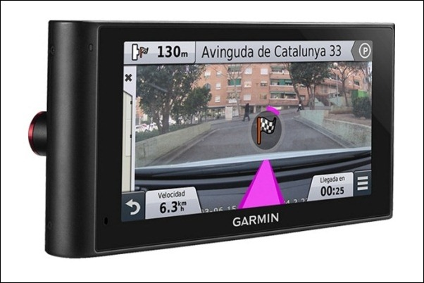 Garmin nüviCam, el futuro de la navegación GPS
