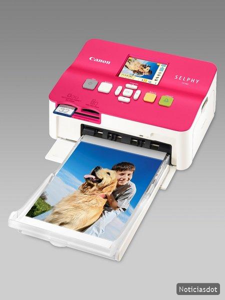 Impresora Canon SELPHY CP780, laboratorio fotográfico ultra compacto y súper sencillo