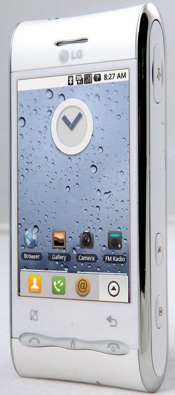 LG GT540, un nuevo Android enfocado a redes sociales
