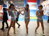 Takara Tomy  en la Tokyo Game Show, Booth Babes