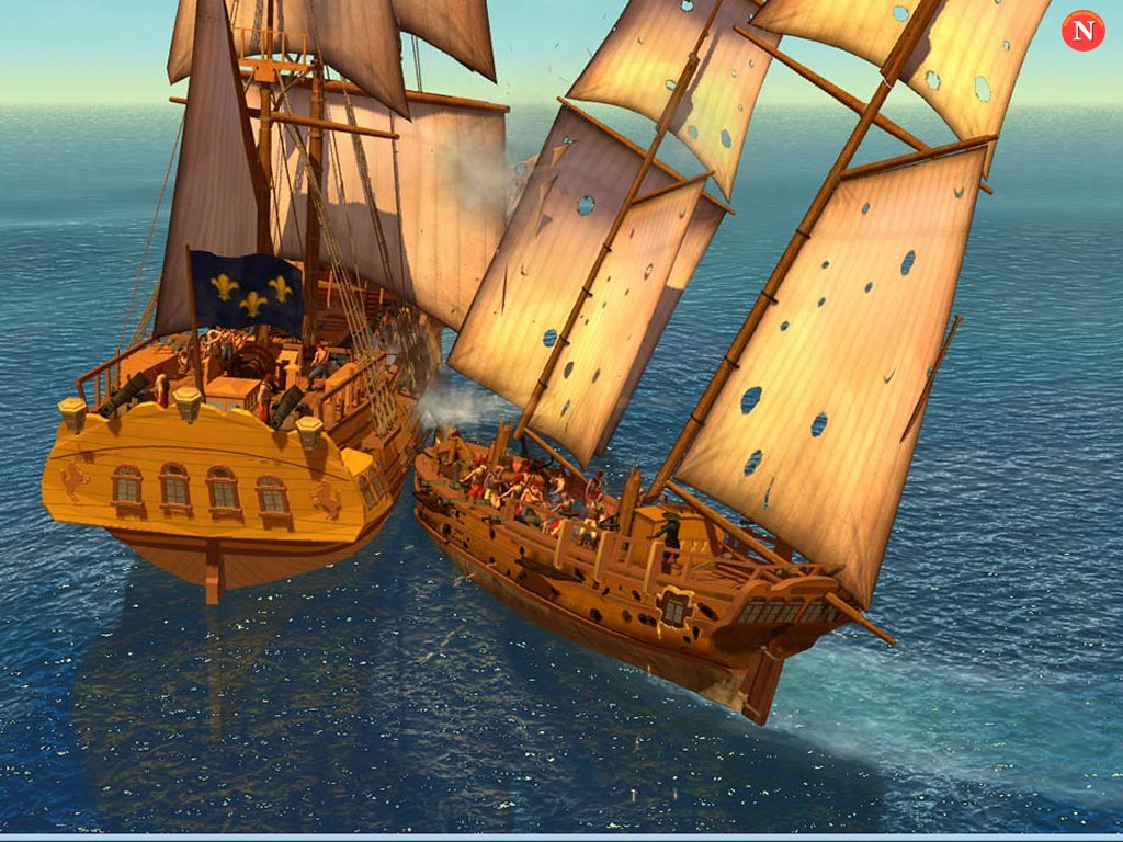 Pirates of the burning sea wallpaper - photo#11