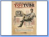 """Anuncios """"fake"""" de los 50 de Youtube, Facebook y Skype"""