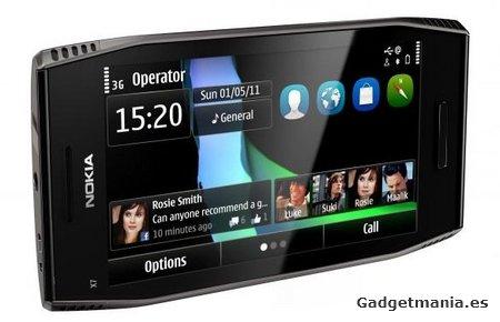 Nokia X7, un terminal enfocado al ocio y multimedia