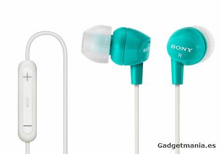 Auriculares Sony Serie MDR-EX: el mejor sonido en cualquier lugar