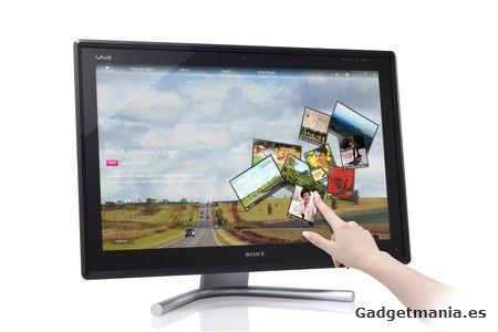 Serie L VAIO de Sony: PC de sobremesa Slim con pantalla táctil de 24? para ahorrar espacio