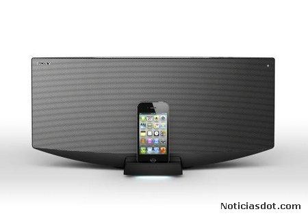 Sony CMT-V75BTiP y CMT-V50iP, nueva gama de sistemas Hi-Fi compactos con base para iPhone, iPod y iPad
