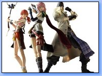 Square Enix trae a España las figuras de Final Fantasy XIII