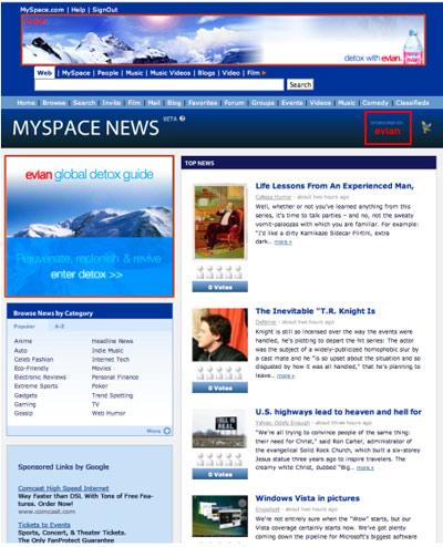 myspacenews