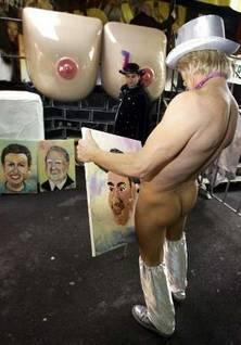 Pintor irreverente